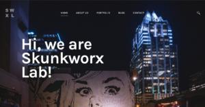 SkunkWorx Lab Website